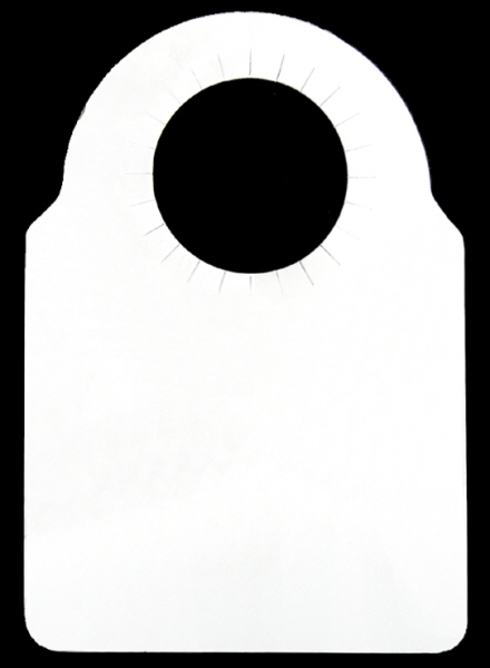 Cellar Accessories : Bottle Neck Tags - White Card (100)