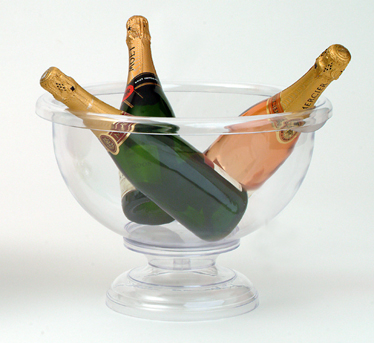 Wine Coolers, Champagne & Wine Buckets etc : Champagne Bowl (Clear Acrylic)