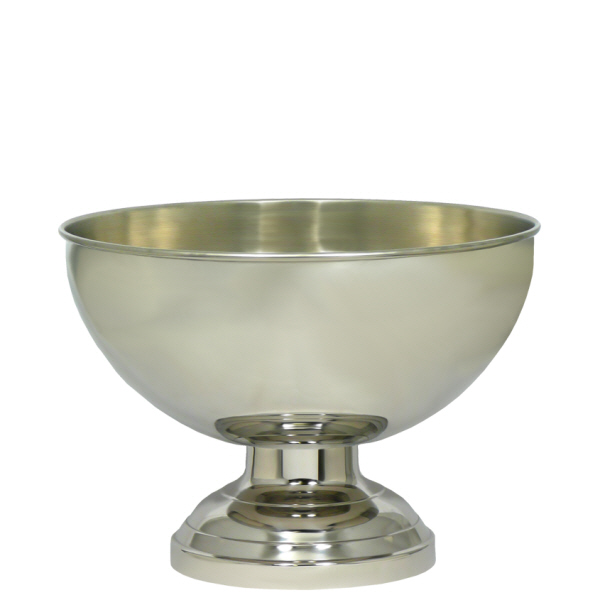 Wine Coolers, Champagne & Wine Buckets etc : Champagne Bowl (Stainless Steel) - 33cms