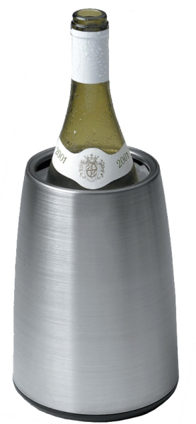 Wine Coolers, Champagne & Wine Buckets etc : Vacu-vin Rapid Ice Prestige Wine Cooler (Stainless Steel)