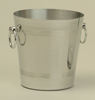 Wine Coolers, Champagne & Wine Buckets etc : Wine Bucket  Aluminium  (Bottle)