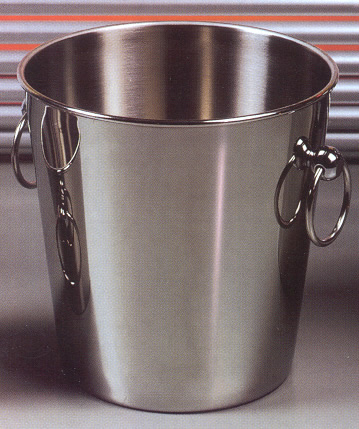 Wine Coolers, Champagne & Wine Buckets etc : Wine Bucket Stainless Steel (Bottle)