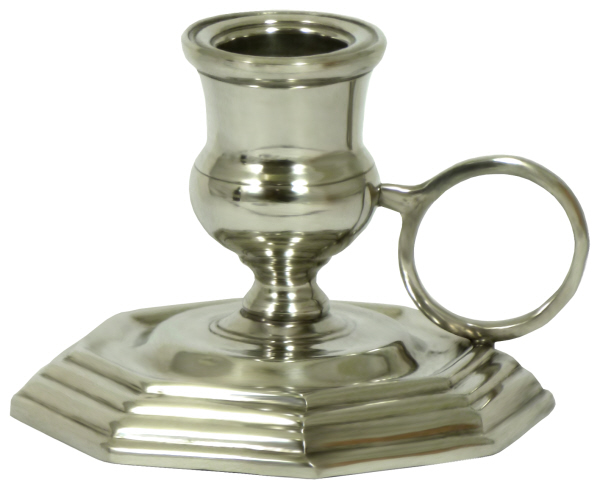 Stylish Pewter Candle Holder