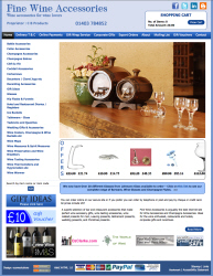 Facelift for Fine Wine Accessories