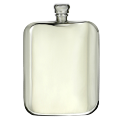 Hip Flask Pewter