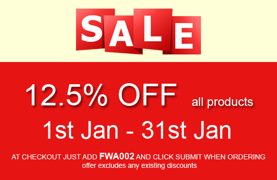 Happy New Year / January Sale