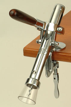 All Corkscrews : Bar Mounted Corkscrew (Chrome Plate)