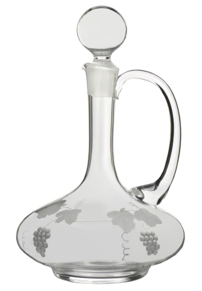 All Decanters / Claret Jugs / Carafes and Jugs : Claret Jug - Engraved (Litre)