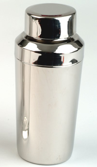 Cocktail Accessories : Cocktail Shaker 0.5 litre (Polished Stainless Steel)