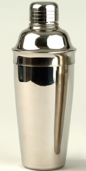 Cocktail Accessories : Cocktail Shaker 0.7 litre (Polished Stainless Steel)