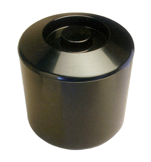 Ice Buckets : Ice Bucket - Round Plastic  - Black