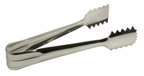 Ice Buckets : Ice Tongs - Stainless Steel