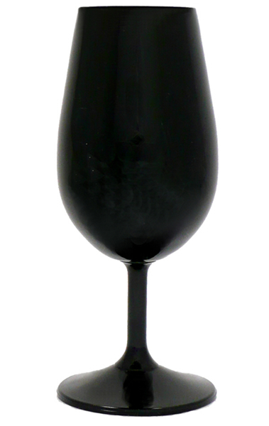 Wine Tasting Accessories : ISO style Tasting Glass - Black  (6 x 213ml)