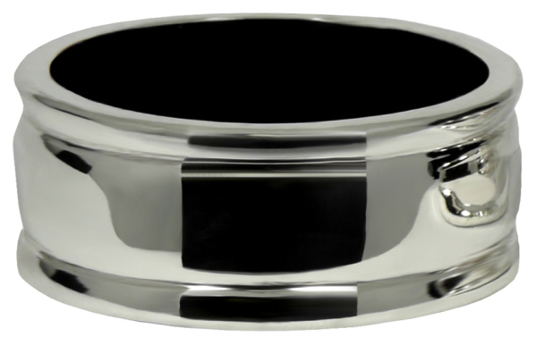 Drip Rings : Plain Drip Ring for Wine Bottles  (Silver plate)