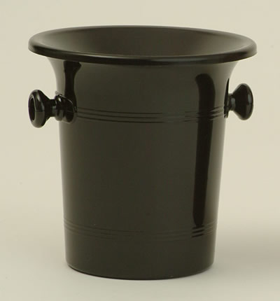 Wine Tasting Accessories : Spittoon Bucket Black Plastic (Standard Size)