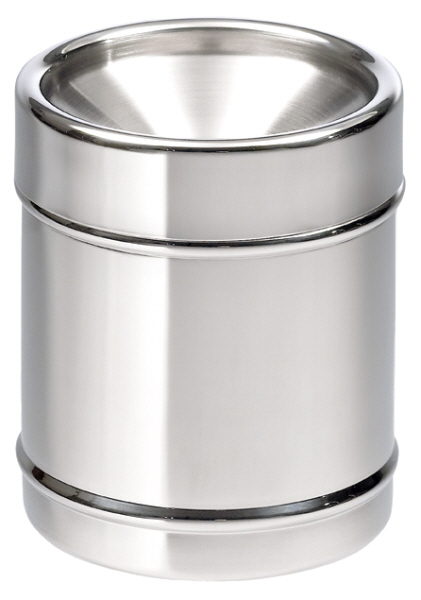 Wine Tasting Accessories : Spittoon Cylindrical Stainless Steel (5 litre)