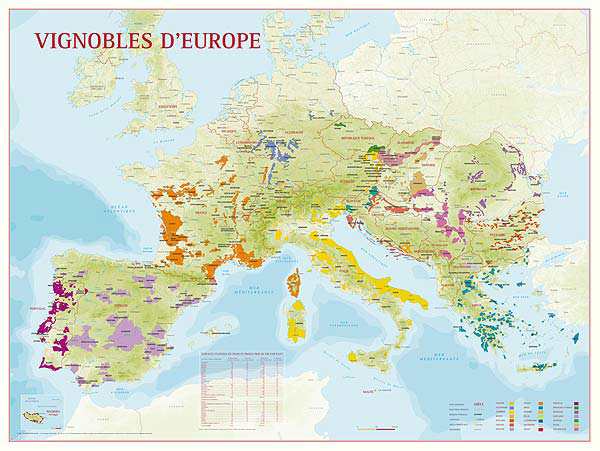 Areas Of France Map.Wine Maps French Wine Regions Map Burgundy Wine Map At Fine Wine