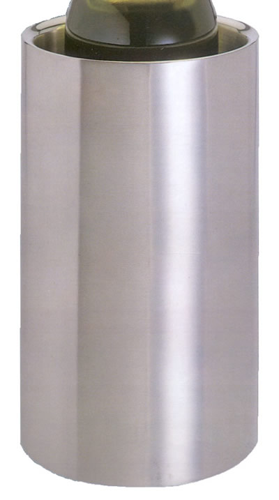 Christmas Gift Ideas : Wine Cooler Double Walled (Brushed Stainless Steel)