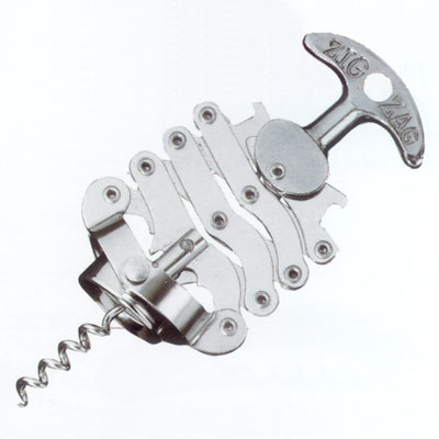 Hand Held Corkscrews : Zig Zag Corkscrew